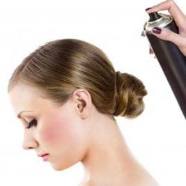 Средства для укладки волос. Лаки
