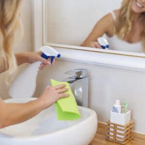 Моющие органические средства для ванны и туалета